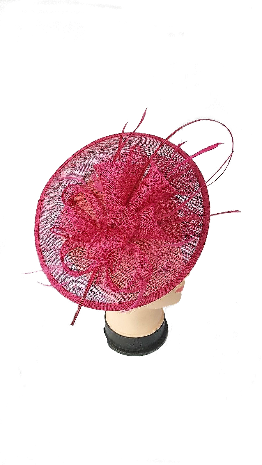Large Headband and Clip Hat Fascinator Weddings Ladies Day Race Royal Ascot d22eb932e16